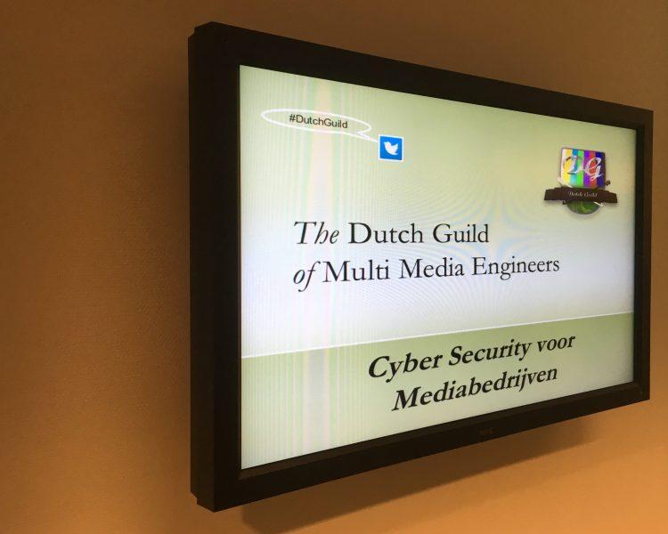 Cybersecurity was het onderwerp van deze thema avond van de DutchGuild