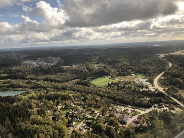 Luchtfoto Gothenburg